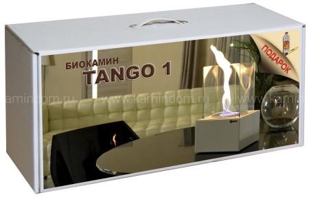 Набор с биокамином Kratki Tango 1, биотопливом и зажигалкой