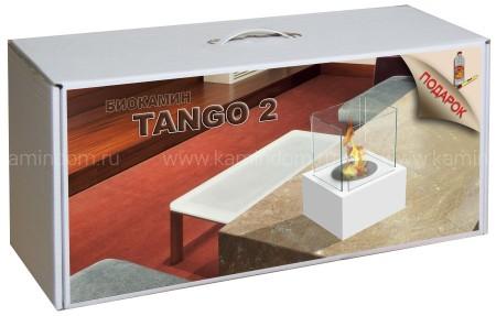 Набор с биокамином Kratki Tango 2, биотопливом и зажигалкой