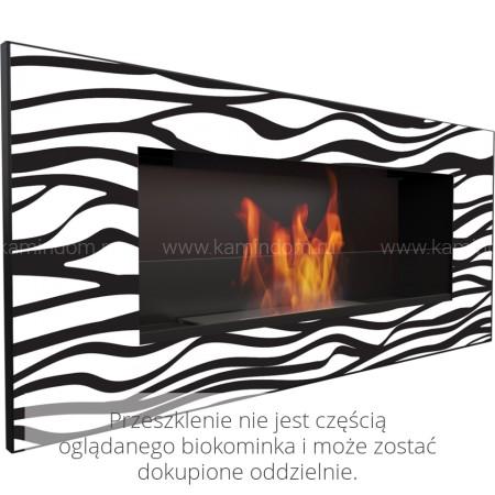 Стекло декоративное для биокамина Kratki Delta 2