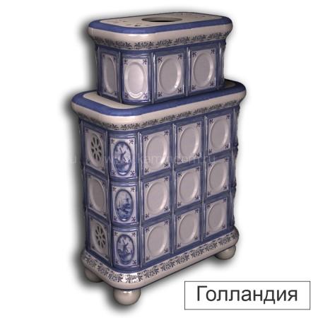 Каминная облицовка КимрПечь Медальон двухъярусная центральная