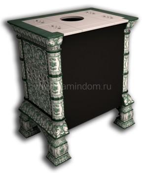 Изразцовая печь КимрПечь Кострома пристенная Май