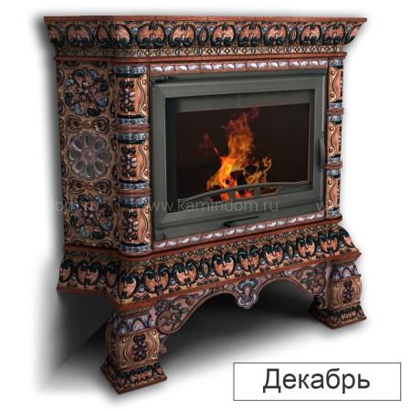 Каминная облицовка КимрПечь Кострома угловая