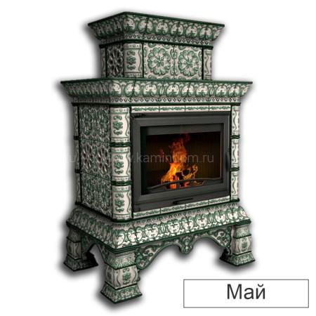 Каминная облицовка КимрПечь Кострома декоративная двухъярусная пристенная