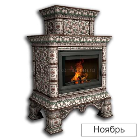 Каминная облицовка КимрПечь Кострома декоративная двухъярусная центральная