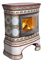 Изразцовая печь КимрПечь Сконе центральная Русский