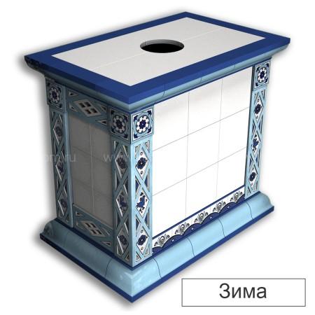 Каминная облицовка КимрПечь Билибин центральная