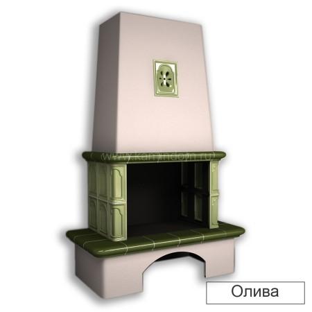 Каминная облицовка КимрПечь Гефест с коробом
