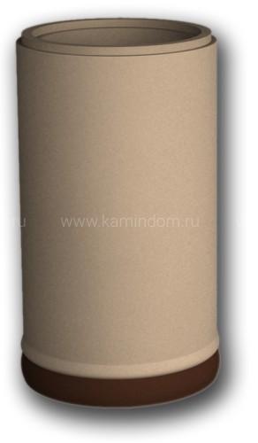 Расписная труба КимрПечь 150 мм (без воздухоотвода)