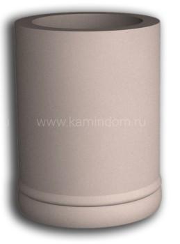 Однотонная облицовка КимрПечь для трубы диаметром 200 мм (без отвода)