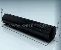 Труба Lokki эмалированная 1 м, d=120 мм