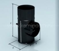 Шибер Lokki эмалированный, d=150 мм