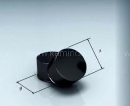 Заглушка Lokki глухая эмалированная, d=115 мм