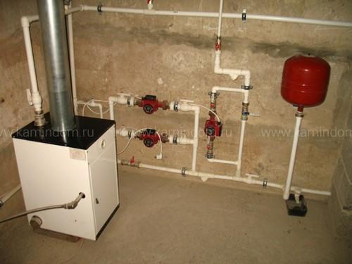 Как сделать расширительный бак в систему отопления