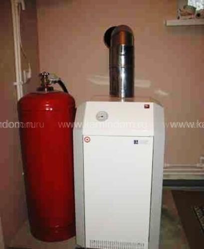 Напольный газовый котел Лемакс Премиум 40