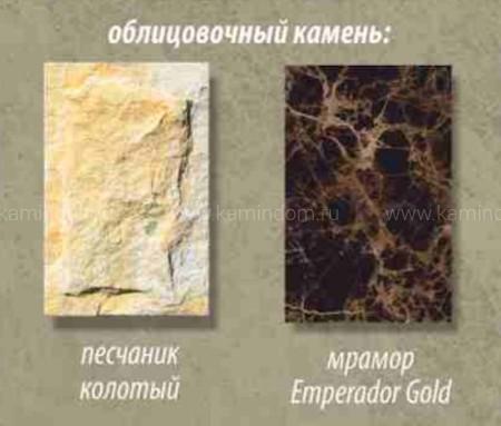 Каминная облицовка Stimlex Damask Emperador (угловая)
