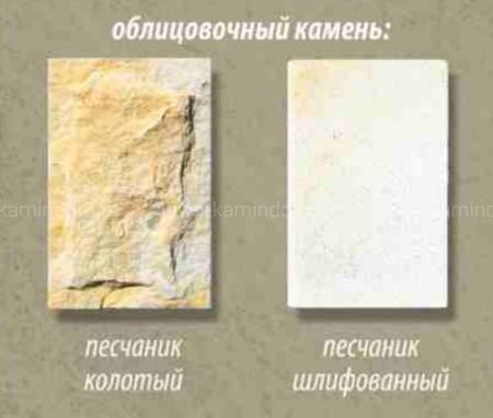 Каминная облицовка Stimlex Rain (угловая)