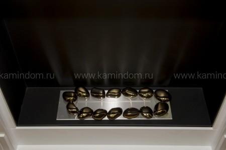 Керамическая галька Kratki №7 золото