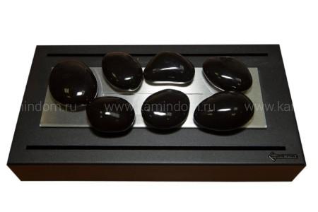 Керамическая галька Kratki №7 черная