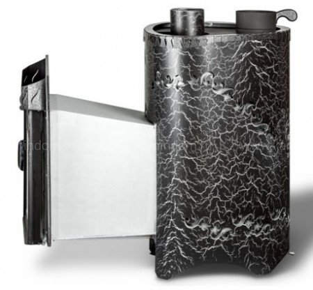 Дровяная печь для бани Ферингер Малютка 'До 16 м³' - Экран (Антик)