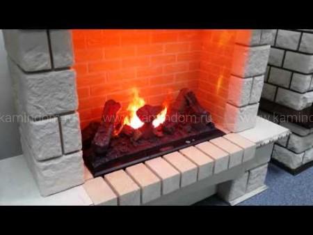 Каминокомплект Royal Flame Pierre Luxe с очагом Dioramic 25 LED FX (слоновая кость с патиной)