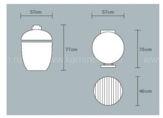 Керамический гриль Monolith Classic (большой)