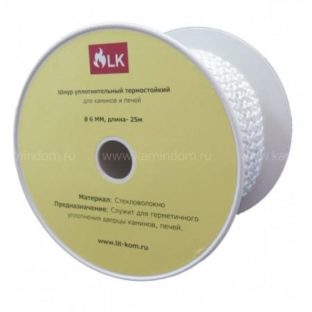 Шнур уплотнительный термостойкий  Ø 10 мм LK