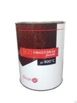Термостойкая краска ELCON (банка 0,8 кг) Серебро