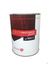 Термостойкая краска ELCON(банка 0,8 кг) Черная