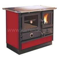 Отопительно-варочная печь с водяным контуром MBS Thermo Magnum Red L