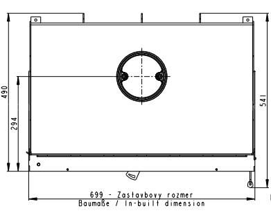 Каминная топка Romotop HEAT 2G 70.50.01