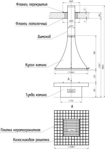 Камин Loft Kamin 05