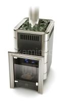 Газовая печь для бани Термофор Уренгой-2 Carbon БСЭ НВ (антрацит)