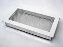 Вентиляционная решетка Kratki белая 17х30