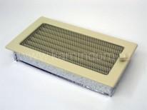 Вентиляционная решетка Kratki кремовая 17х30 с жалюзи