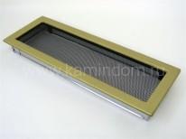 Вентиляционная решетка Kratki латунь 17х49