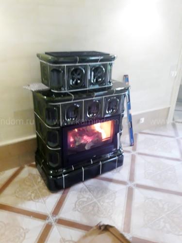 Кафельная печь-камин ABX Karelie под ключ