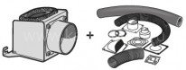 Комплект подключения воздуховода Contura i4 FS (301237)