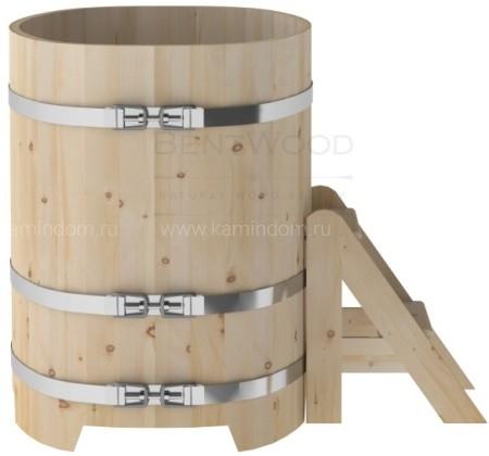 Купель овальная для бани и сауны Bentwood из кедра