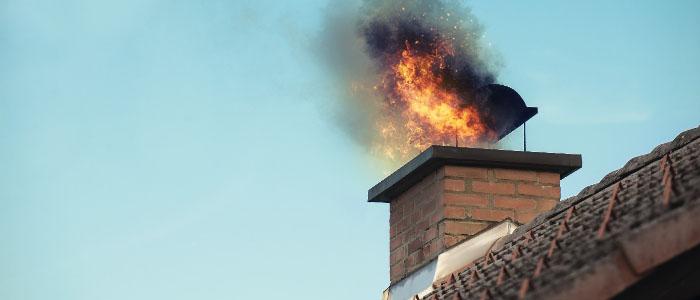 Как избежать пожара дымохода