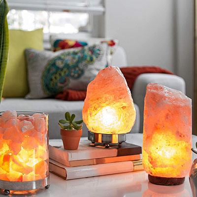 Лампы из гималайской соли в подарок