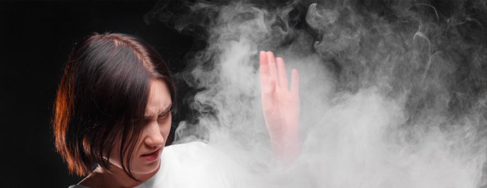 Дымное облако от камина или печки?
