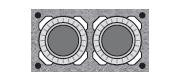 Двухходовые керамические дымоходы SCHIEDE UNI без вентиляции